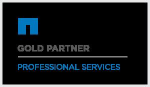 NetApp gold partner logo